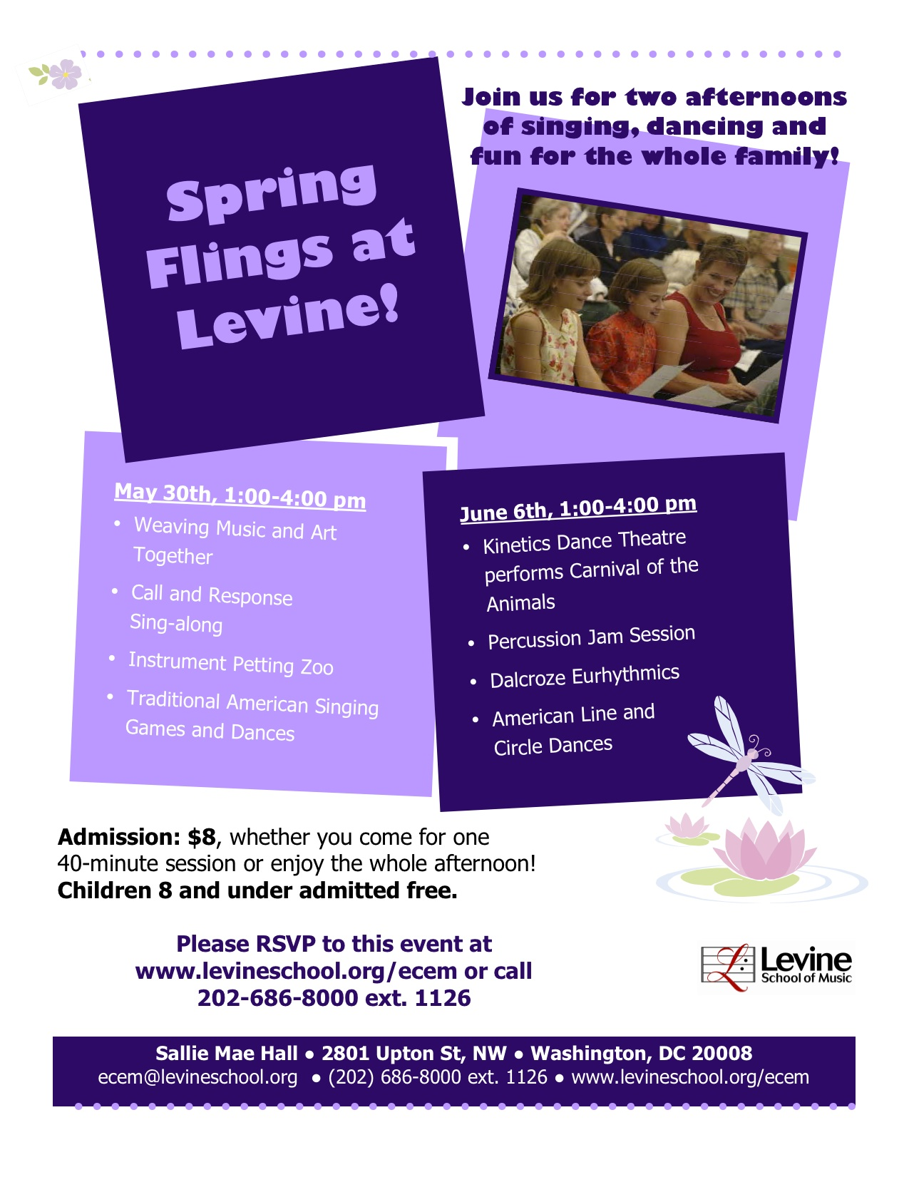 Levine Music Spring Fling Brochure