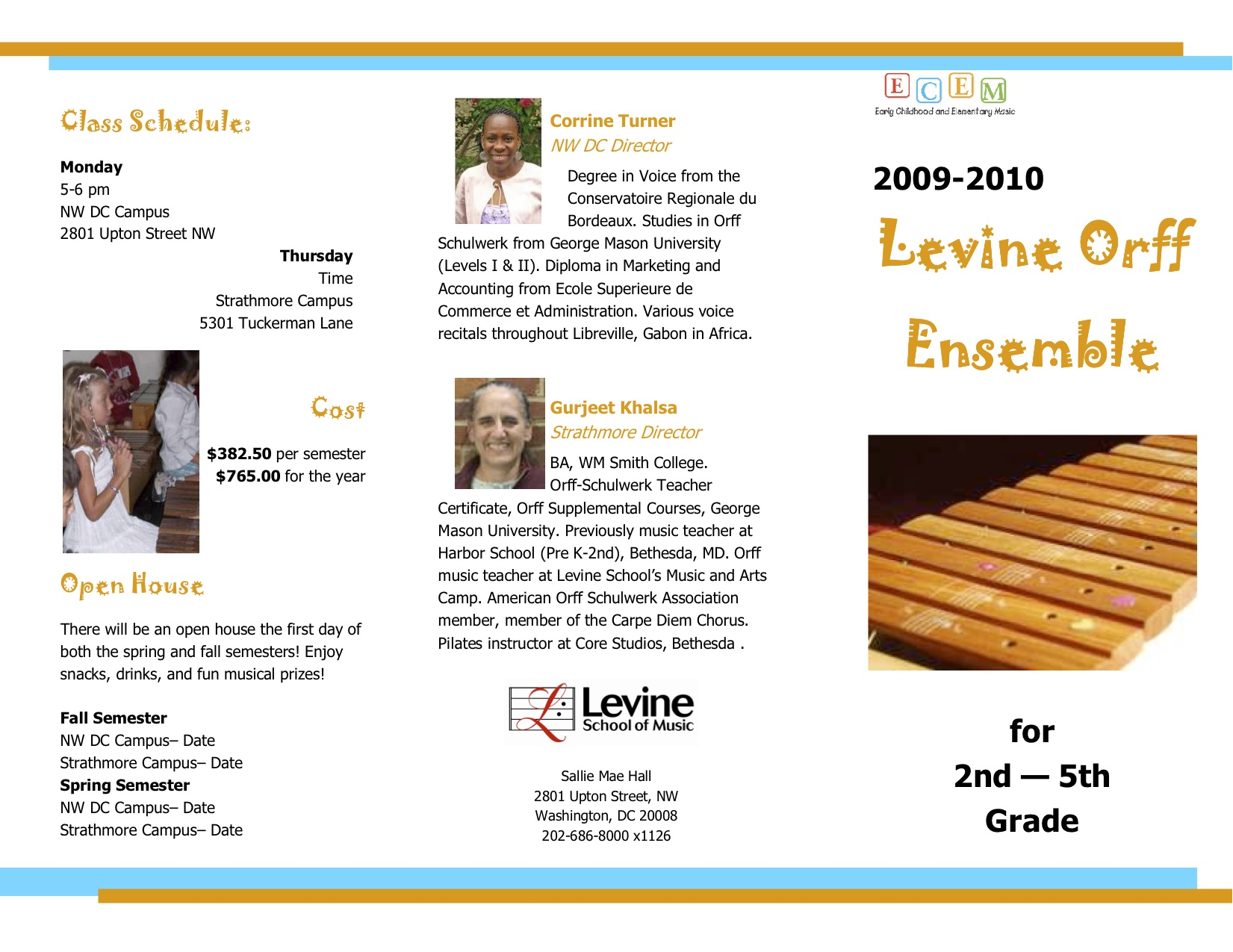 Levine School of Music Orff Ensemble