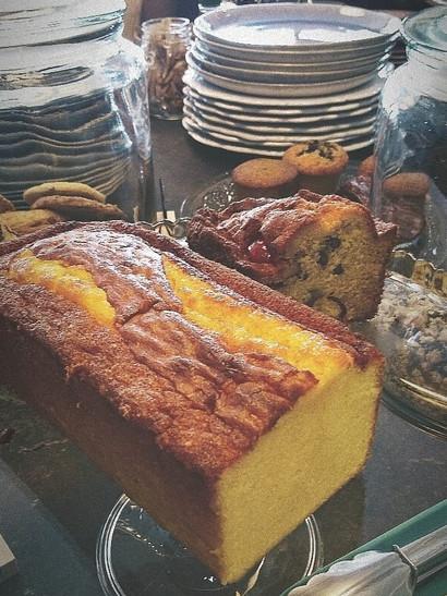 Notre cake au citron bien bon !