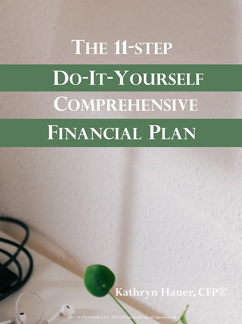 The 11-Step DIY Comprehensive Financial Plan