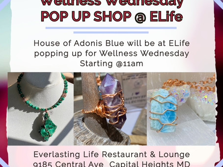 Pop Up Shop @Elife!