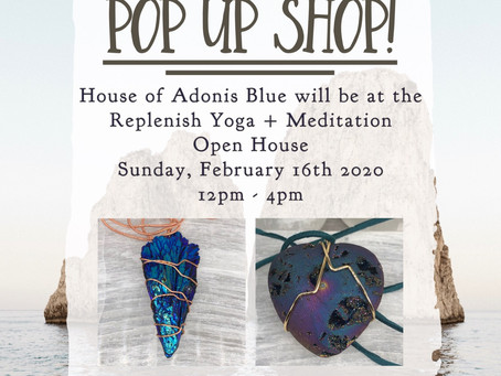 Replenish Yoga + Meditation Open House & Pop-Up Shop
