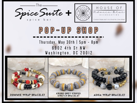 Pop-Up @ The Spice Suite