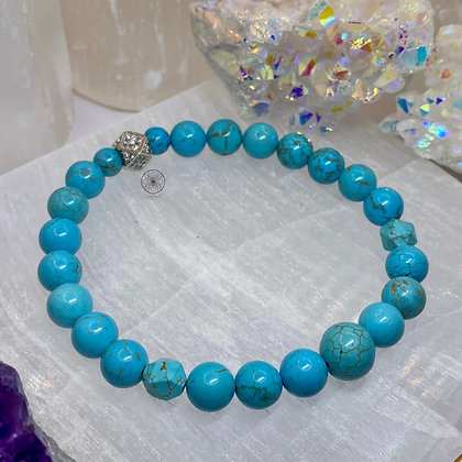 Turquoise Pavé Bracelet II