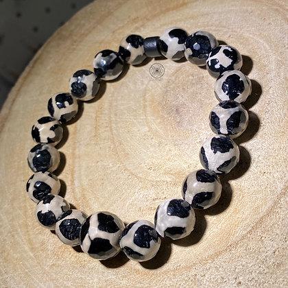 Tibetan Dzi Agate Bracelet