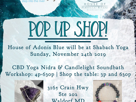 Pop Up Shop: Shabach Yoga