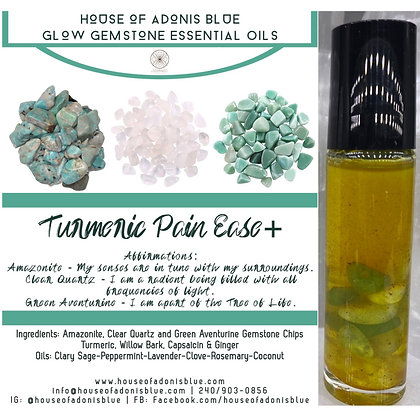 Turmeric Oil+ - Glow Gemstone Essential Oils