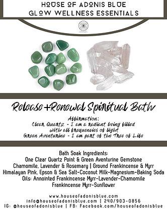 Release & Renewal -14oz- Spiritual Bath Soak