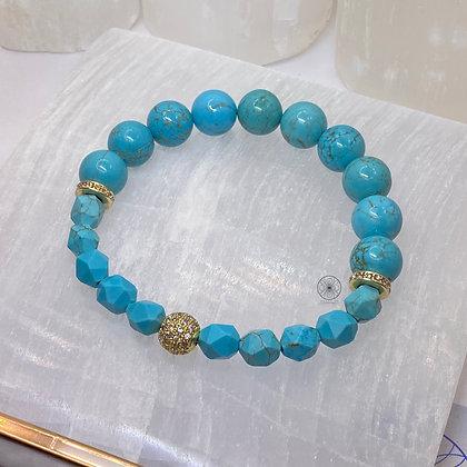 Turquoise Pavé Bracelet