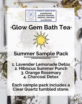 Glow Gem Bath Tea Sample Pack