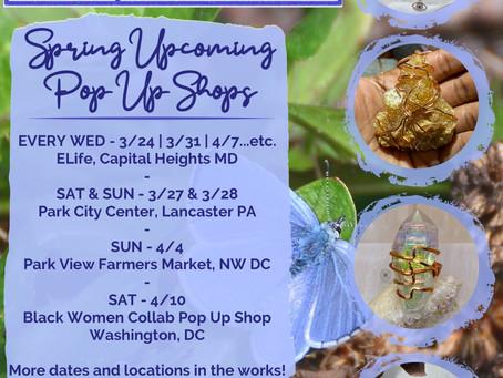 Up Next!: Spring Pop Up Shops