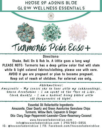 Turmeric Pain Ease Plus+