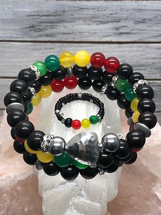 Kingston Wrap Bracelet & Ring Set