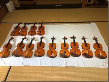 様々な楽器寄贈に感謝申し上げます