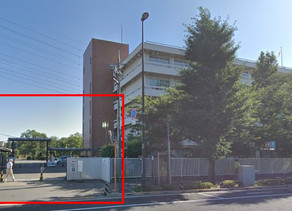 Where to meet at Fuchu Drivers License Center for Practice Driving?