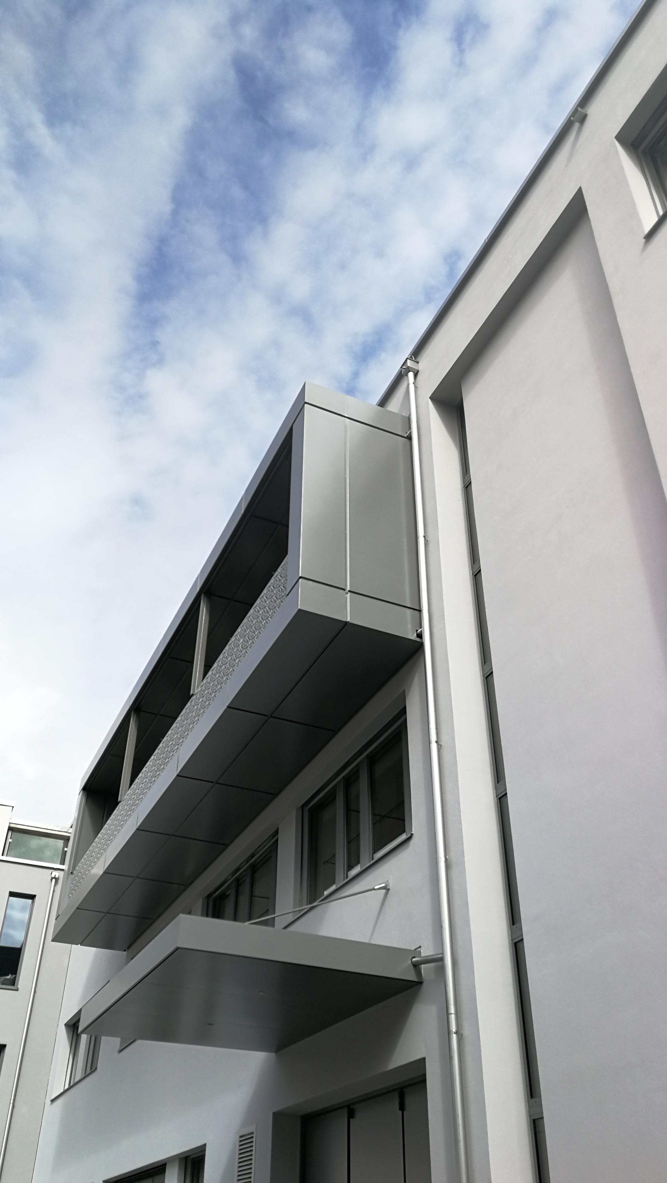 Balkon und Vordach