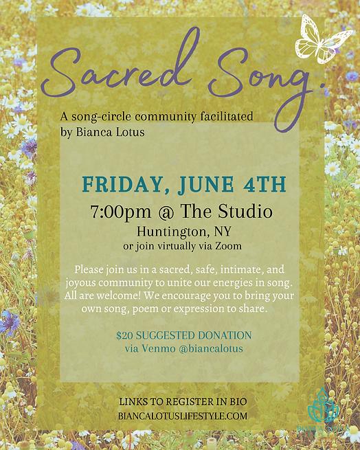 Bianca Lotus - June 4th_Sacred Song Circ