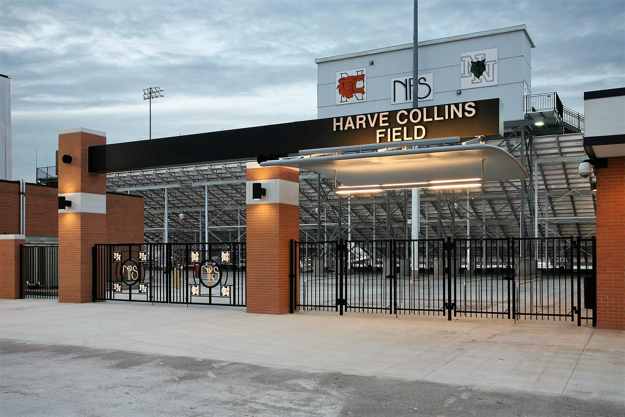 NHS-Harve Collins Field-Entrance Gate