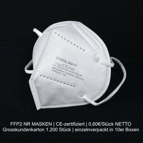 FFP2 NR Masken zu günstigen Konditionen