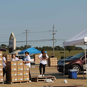 Food Giveaway . Tupelo . MS . 10-07-20