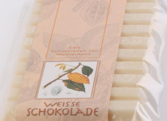 Schokolade weiss, handgeschöpft