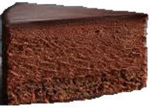 Mousse au chocolate-Torte