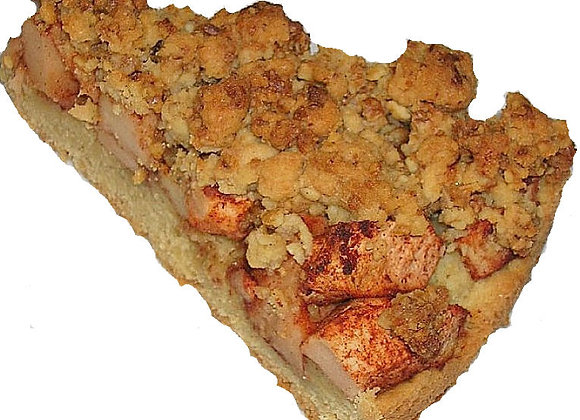 Nusskrokant-Apfelkuchen