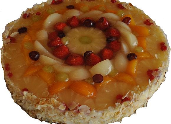 gemische Obsttorte - Kuchen