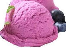 Heidelbeere- Fruchteis/Sorbet - lactosefrei, vegan