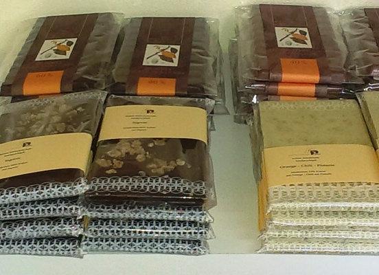 Kokostraum - Schokolade weiss, handgeschöpft