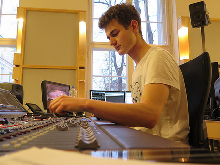 Recording Session in Berlin