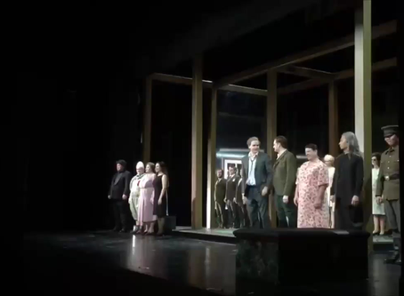 Success in Eugen Onegin at the Theater Freiburg for the Derniere of Peter Carp's mythical Production