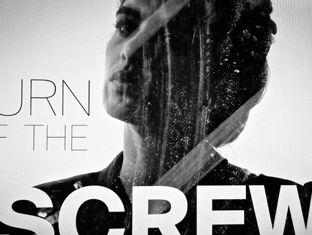 The poster for Turn of the Screw at the Theater Freiburg is here!