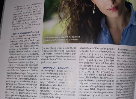 Opernglas Magazine Feature