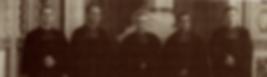 Os quatro pioneiros da missão brasileira (Ir. Alfonso, Ir. Angélico, Ir. Wenceslau e Ir. Giovanni. O Irmão ao centro é o Ir. Alessio, superior do Distrito da Itália, na época.