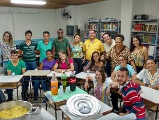 Irmão celebra com alunos mais um ano de atividades na Rede Educafro
