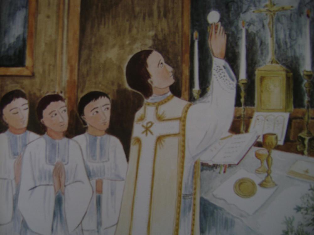 Primeira Missa de São Luís de Montfort