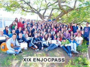 XIX EnjocPass marca caminhada de jovens de Passos