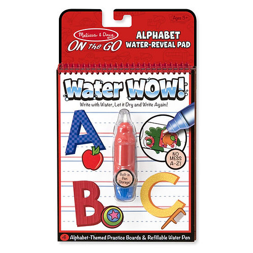 Water Wow Alphabet
