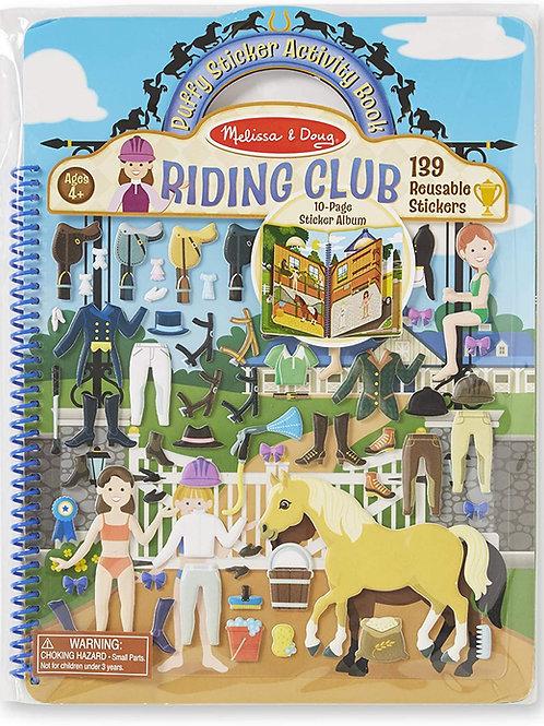 Riding Club Puffy Sticker Book