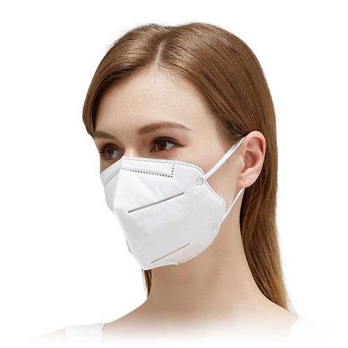 KN95- 4 ply Single Mask