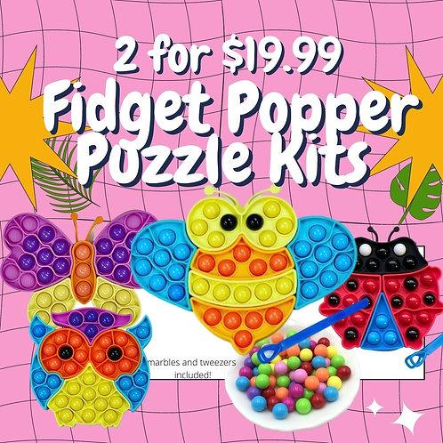 Fidget Popper Kit- 2 for $19.99