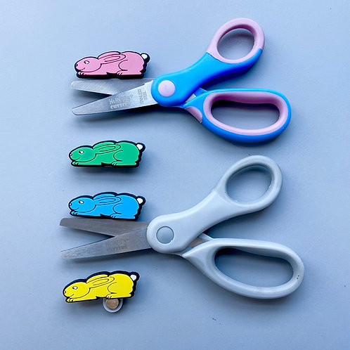 Springtime Bunny Hungry Cutters-R hand