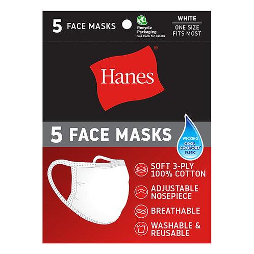 Hanes Reusable Cotton Face Mask