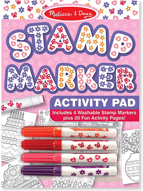 Stamp Marker Activity Pad