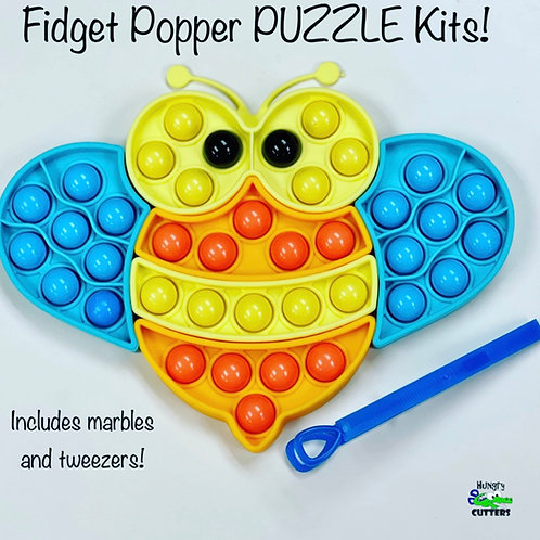 Fidget Popper PUZZLE Kit