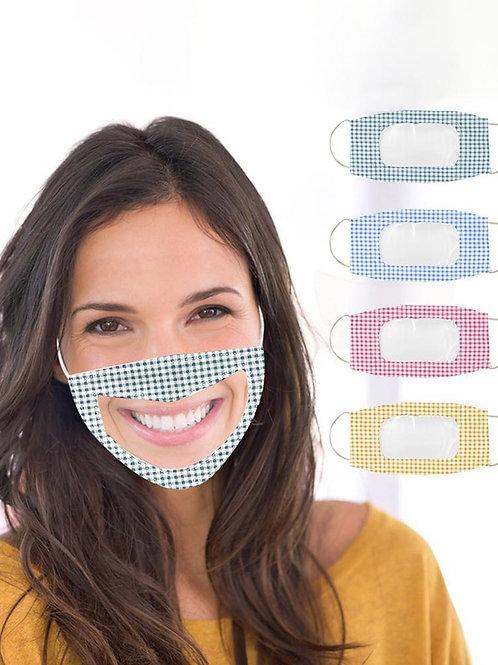 Clear Cloth Mask