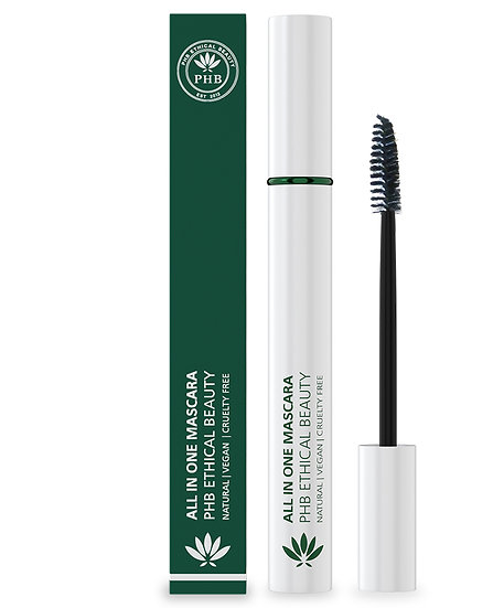 PHB All in One Natural Mascara - Black
