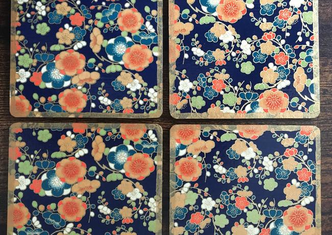 orange/blue blossom
