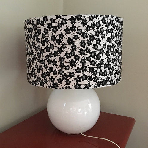 Design your own lampshade from vintage kimono fabric 1970s